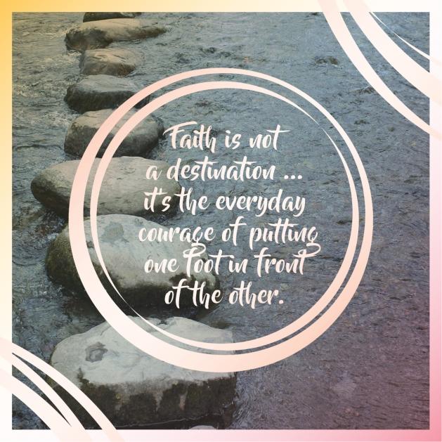 Faith is not a destination